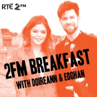 Logo du podcast 2FM Breakfast with Doireann and Greg