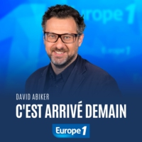 Logo of the podcast C'est arrivé demain - David Abiker