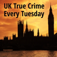 Logo of the podcast UK True Crime Podcast