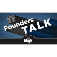 Logo of the podcast 5by5 - Founders Talk
