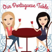 "Logo of the podcast Portugalia Marketplace, aka ""Portuguese Mecca"""