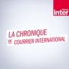 Logo of the podcast La chronique de courrier international