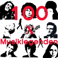 Logo of the podcast #100malMusiklegenden - podcast eins