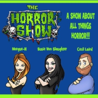 "Logo of the podcast The Horror Show Podcast #40: Cecil & Marcia get ""Afflicted"""