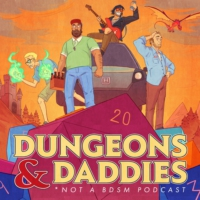 Logo of the podcast Dungeons and Daddies