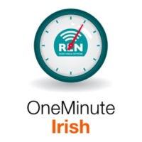 Logo of the podcast One Minute Irish