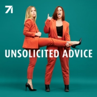 Logo of the podcast Unsolicited Advice with Ashley and Taryne