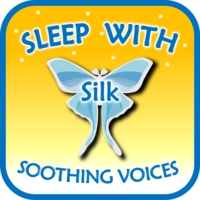 Logo du podcast Sleep with Silk: Soothing Voices
