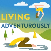 Logo du podcast Living Adventurously