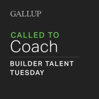 Logo of the podcast Gallup Talent Builder Tuesday