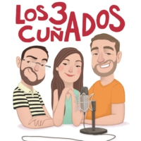 Logo of the podcast Los 3 Cuñados programa 3 Rap Bizarro