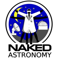 Logo du podcast Naked Astronomy, from the Naked Scientists