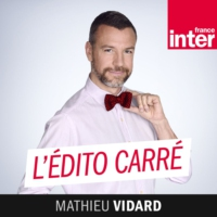 Logo of the podcast L'édito carré du mardi 23 avril 2019