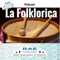 Logo of the podcast La Folklorica