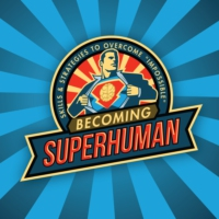 Logo of the podcast The Becoming SuperHuman Podcast