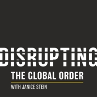 Logo of the podcast Disrupting the Global Order with Janice Stein