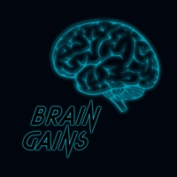 Logo of the podcast Brain Gains