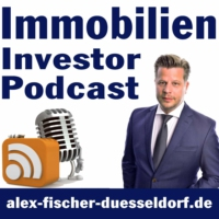 Logo of the podcast Immobilien Investor Podcast: ValueCashflowBankingAnkaufEntwicklungExitAlex Fischer