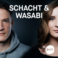 Logo du podcast Trailer: Schacht & Wasabi - der Deutschrap Podcast
