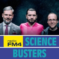 Logo du podcast FM4 Science Busters: WOW-Signal