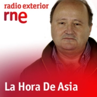 Logo of the podcast Radio Exterior - La Hora de Asia