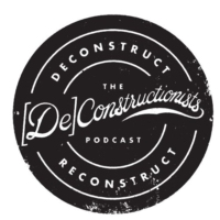 "Logo du podcast Ep 5 ""Deconstructing The Bible"" part 1"