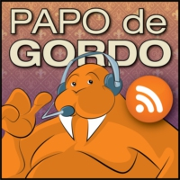 Logo of the podcast Papo de Gordo