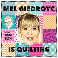 Logo du podcast Mel Giedroyc is Quilting