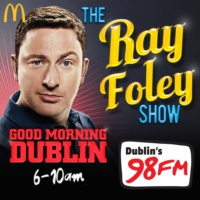 Logo of the podcast The Ray Foley Show Podcast Thursday 26th November 2015