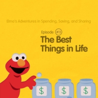 Logo of the podcast Elmo's Adventures in Spending, Saving, and Sharing