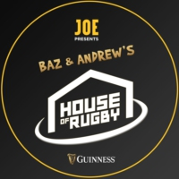 Logo of the podcast Baz and Andrew's House of Rugby
