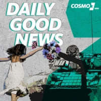 Logo of the podcast COSMO Daily Good News