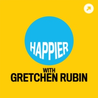 Logo of the podcast Little Happier: There's Such Joy in Giving Delight
