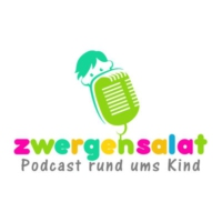 Logo du podcast zwergensalat | Podcast rund ums Kind