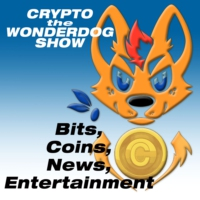 Logo of the podcast Crypto the WonderDog show