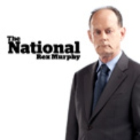 "Logo of the podcast Rex Murphy on ""Outrageous"" Liberal Expenses"