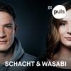 Logo of the podcast Schacht & Wasabi – der Deutschrap-Podcast von PULS