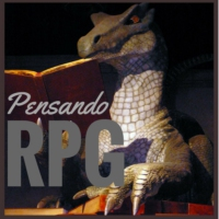 Logo du podcast Pensando RPG #123 - Entenda a figura do Elfo