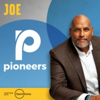 Logo of the podcast Pioneers with John Amaechi