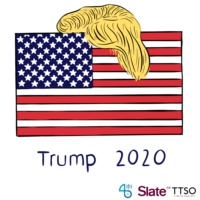 Logo of the podcast Trump 2020