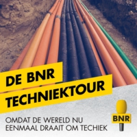 Logo of the podcast BNR start nieuw programma: De BNR Techniektour