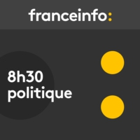 "Logo of the podcast ""Marine Le Pen est une féministe fictive"", estime Laurence Rossignol"