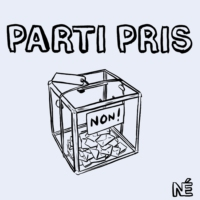 "Logo du podcast Parti Pris #5 - ""Désertion"""