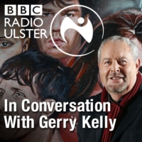 Logo of the podcast Gerry Kelly in Conversation with Adrian McKinty and Eve Belle