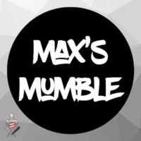 Logo du podcast 1 BAND. 1 VENUE. 2 ALBUMS. 2 GIGS. 2 HANGOVERS - Max's Mumble