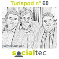 Logo of the podcast Turispod nº 57  Volvemos y Jimmy Pons se va a trabajar a Hosteltur