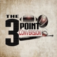 Logo of the podcast The 3 Point Conversion Sports Lounge