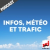 Logo of the podcast INFOS, METEO et TRAFIC de NRJ