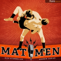 Logo of the podcast Mat Men - Pro Wrestling Podcast