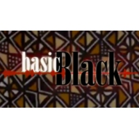 "Logo of the podcast Basic Black Live: Are women of color left out the ""women's agenda""?"